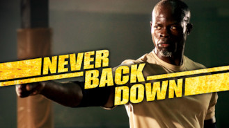 Netflix Canada: Never Back Down is available on Netflix for