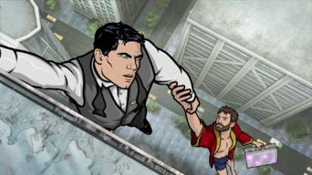 Archer: Season 5: Archer Vice: Baby Shower